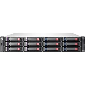 HP AP845A (12) LFF SAS/SATA Supported 24 TB Maximum 8 Gb Fibre Channel (2) Ports per controller Included (2) P2000 G3 Fibre Channel MSA Controller Included