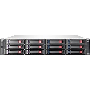 HP AW567A (12) LFF SAS/SATA Supported 24 TB Maximum 8 Gb Fibre Channel (2) Ports per controller and 1 GbE iSCSI (2) Ports per controller Included (2) P2000 G3 Fibre Channel/iSCSI Combo MSA Controller Included
