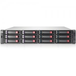 HP BK830A (12) LFF SAS/SATA Supported 24 TB Maximum 1 GbE iSCSI (4) Ports per controller Included (2) P2000 G3 iSCSI MSA Controller Included