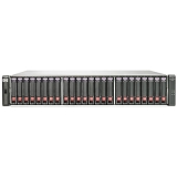 HP BV901A (24) SFF SAS Supported (24) 146 GB 6G 15K SFF Dual-port SAS Included 3.5 TB Raw Included 8 Gb Fibre Channel (2) Ports per controller Included (2) P2000 G3 Fibre Channel MSA Controller Included