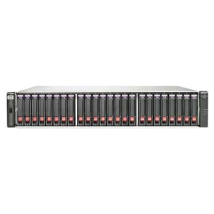 HP BV902A (24) SFF SAS Supported (24) 300 GB 6G 10K SFF Dual-port SAS Included 7.2 TB Raw Included 8 Gb Fibre Channel (2) Ports per controller Included (2) P2000 G3 Fibre Channel MSA Controller Included